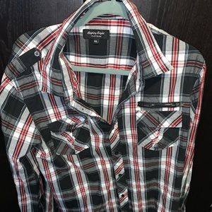 Mens button up shirt